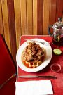 Chicken and Waffles by Sydney based food and lifestyle photographer Benito Martin