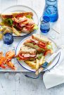 Prawn Club Sandwiches by Sydney based food and lifestyle photographer Benito Martin